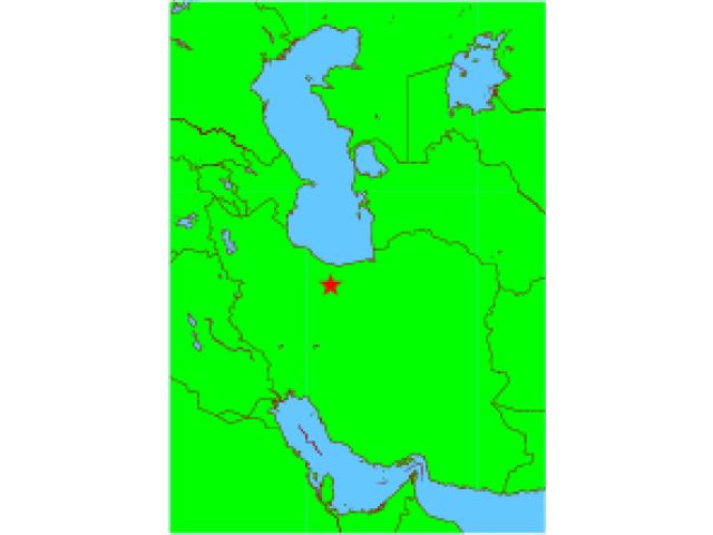 Tehran locator map