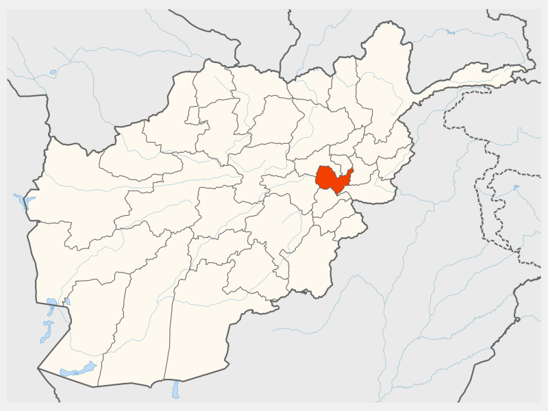 Kabul locator map
