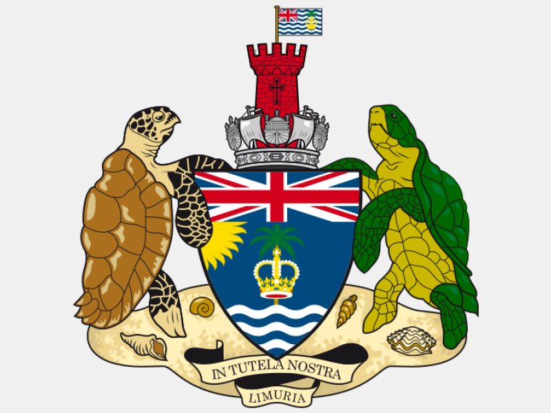 Coat of arms of the British Indian Ocean Territory coat of arms image
