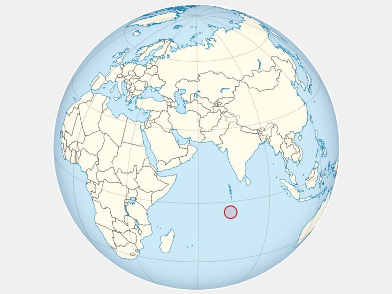 British Indian Ocean Territory locator map