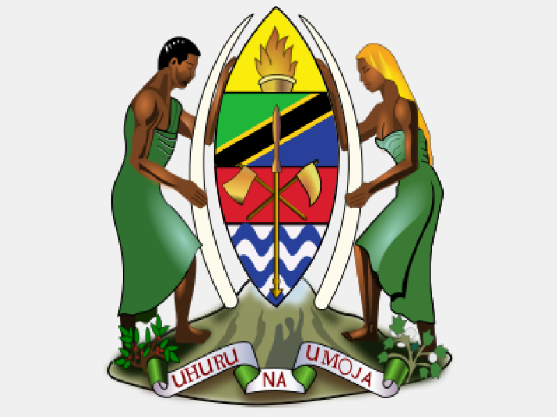 Coat of arms of Tanzania coat of arms image