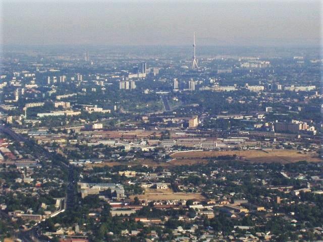 Aerial view of Tashkent  Uzbekistan image