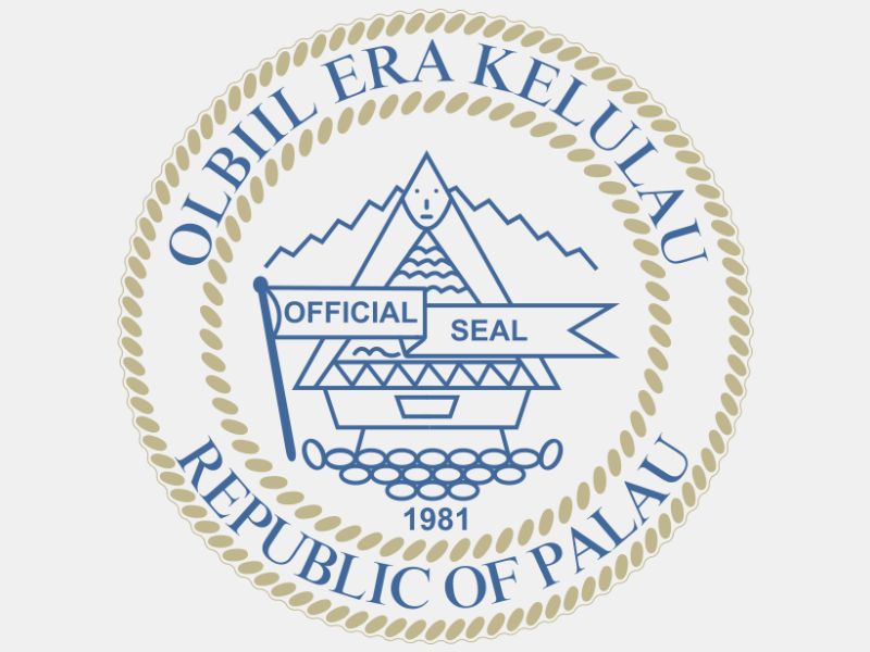 Seal of Palau coat of arms image