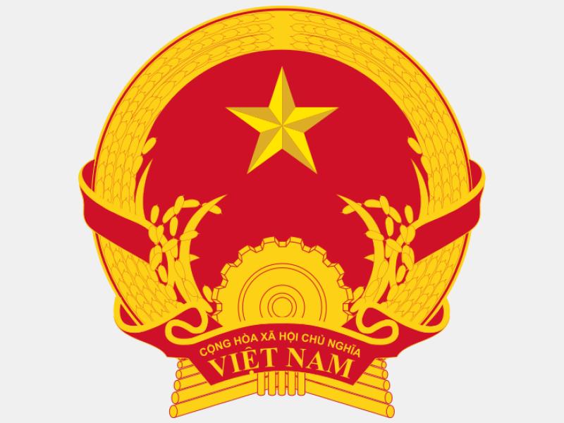Emblem of Vietnam coat of arms image