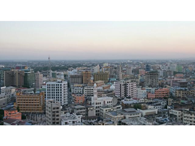 Dar es Salaam before dusk image