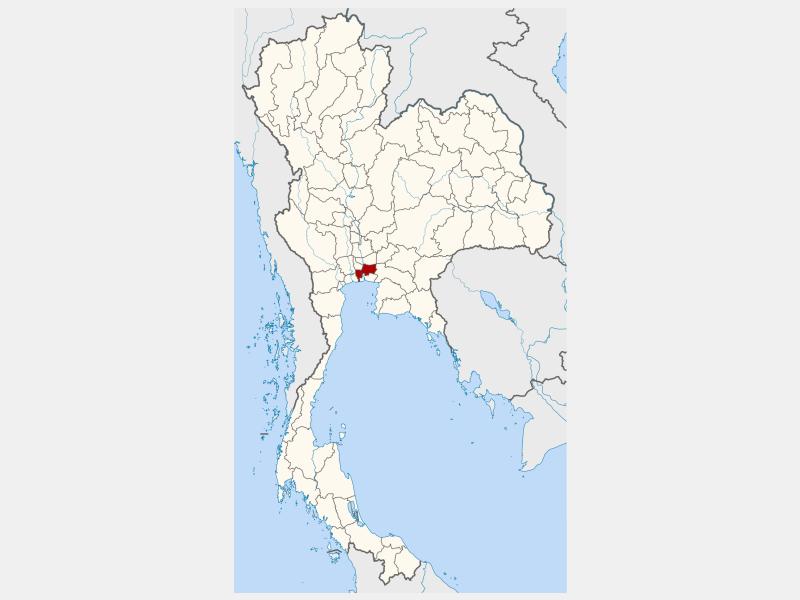 Bangkok locator map