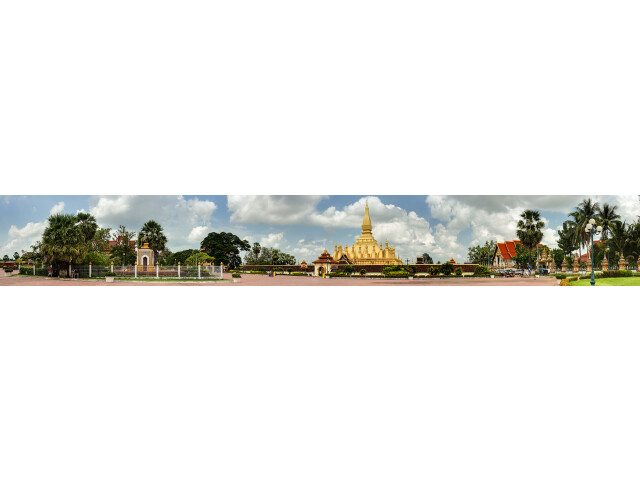Vientiane 'Laos' banner Pha That Luang page banner