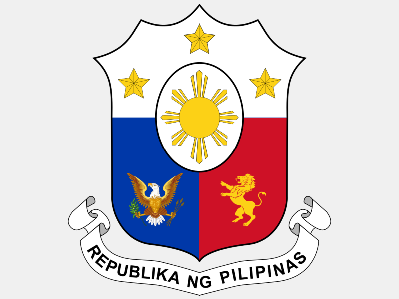 Coat of arms of the Philippines coat of arms image