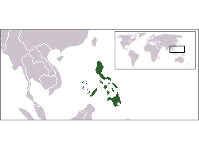 Republic of the Philippines locator map