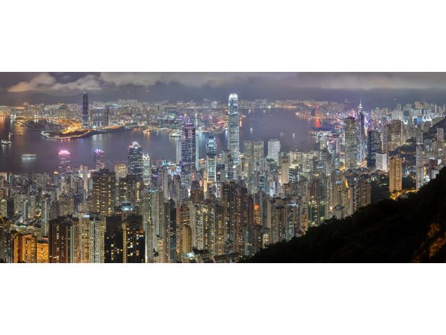 Hong Kong Night Skyline image