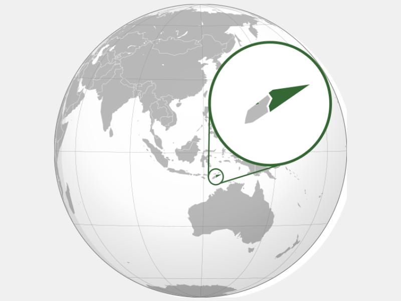 Democratic Republic of Timor-Leste locator map