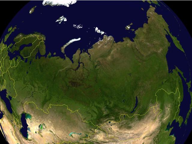 Russia 87.74494E 66.20034N image