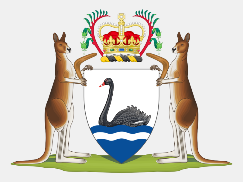 Coat of arms of Western Australia coat of arms image