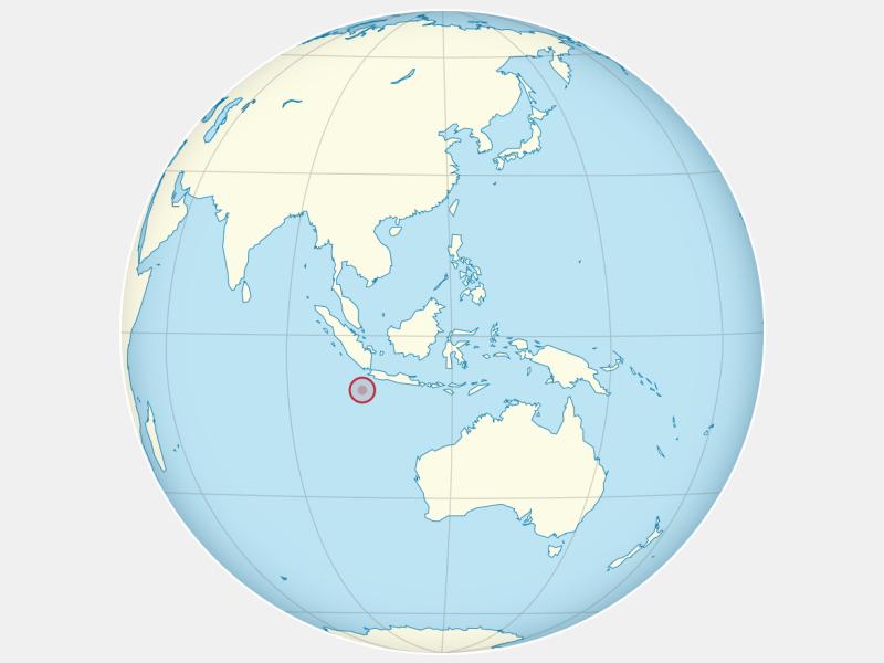 Territory of Christmas Island locator map