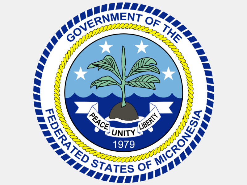 Seal of the Federated States of Micronesia coat of arms image