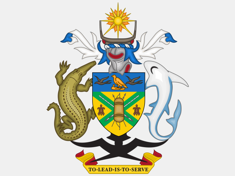Coat of arms of the Solomon Islands coat of arms image
