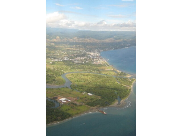 Honiara aerial crop image