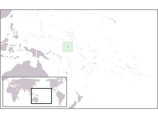 Nauru locator map