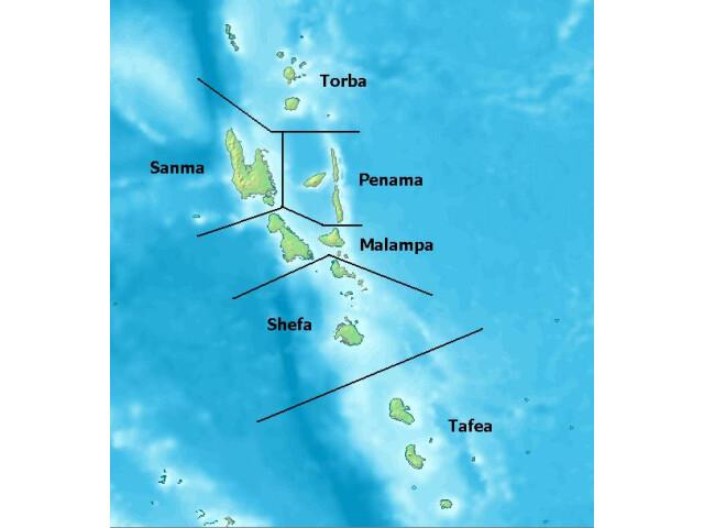 Vanuatu Provinces image