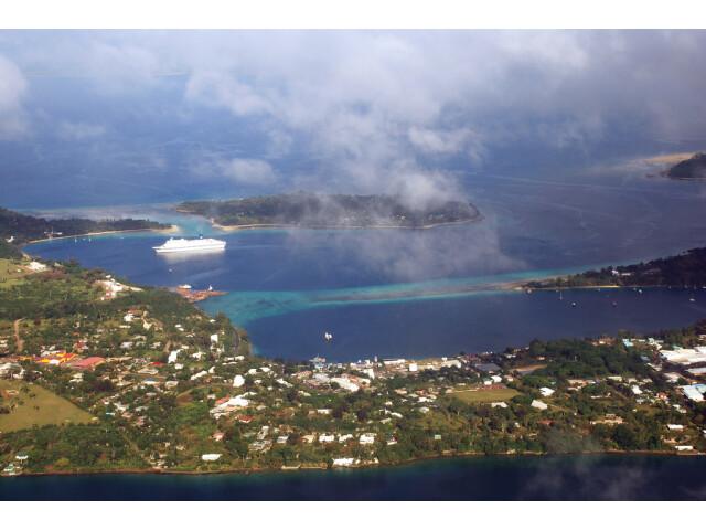 Port Vila aerial image
