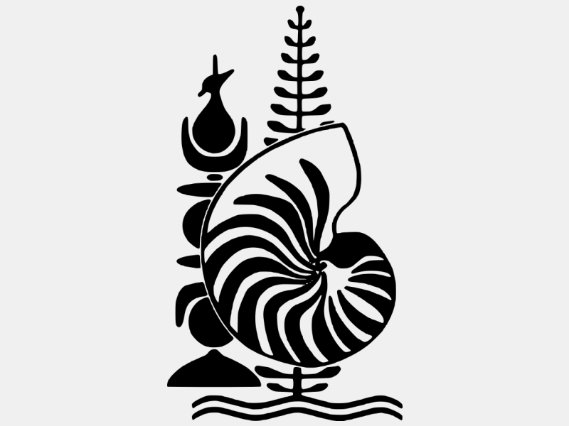 Emblem of New Caledonia coat of arms image