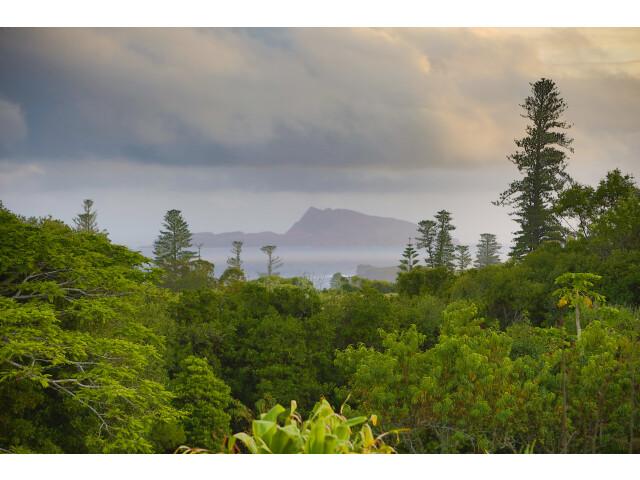 Dusk on Norfolk Island image