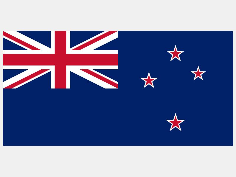 Flag of New Zealand flag image