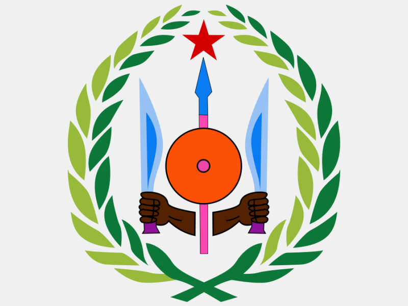 Emblem of Djibouti coat of arms image