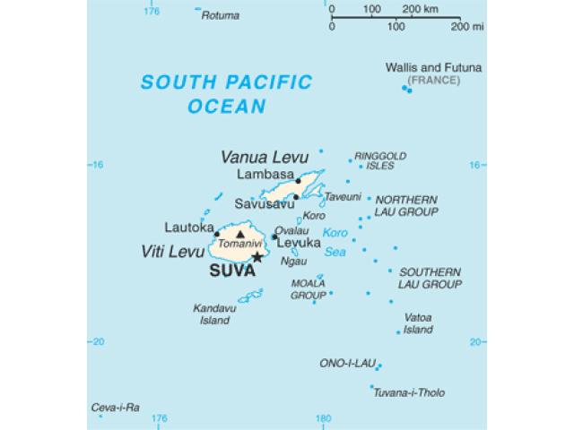 Suva locator map