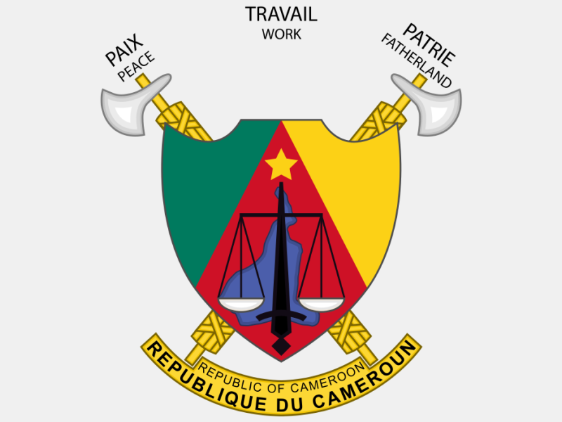 Coat of arms of Cameroon coat of arms image