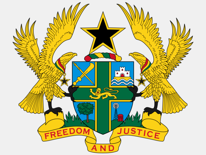 Coat of arms of Ghana coat of arms image