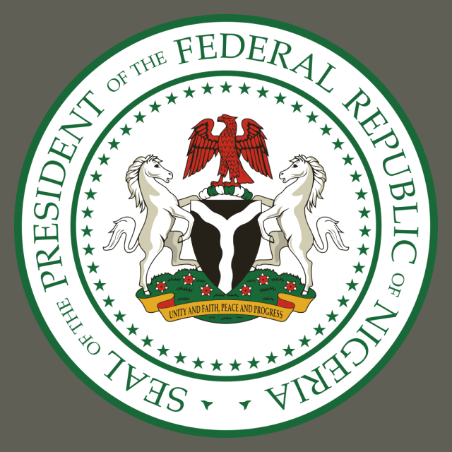 Seal of the President of Nigeria seal image