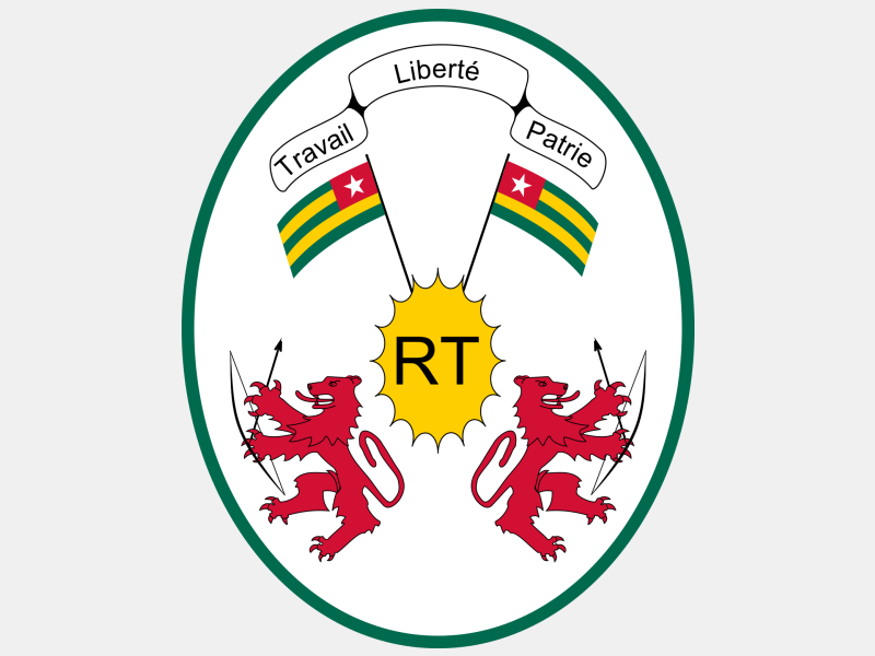 Emblem of Togo coat of arms image