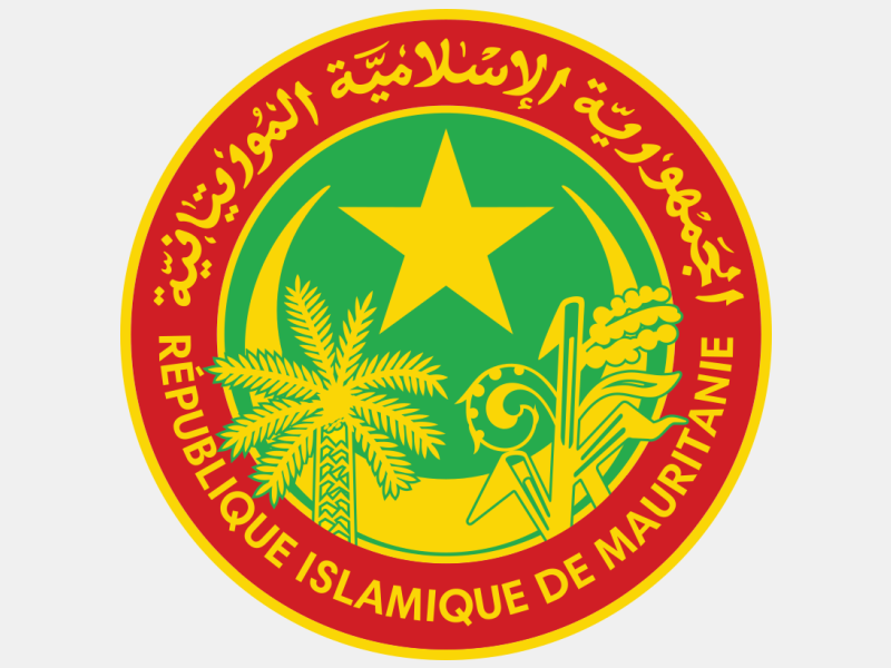 Seal of Mauritania 'December 2018' coat of arms image