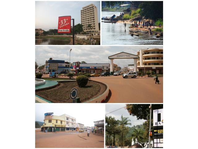 Bangui collage image