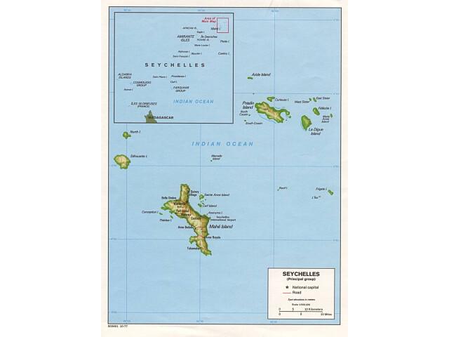 Victoria locator map