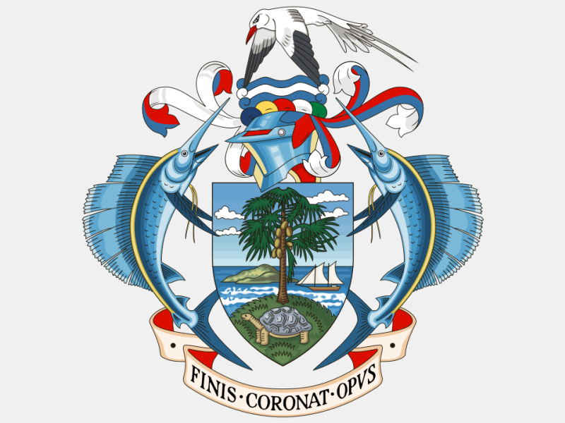 Coat of arms of Seychelles coat of arms image