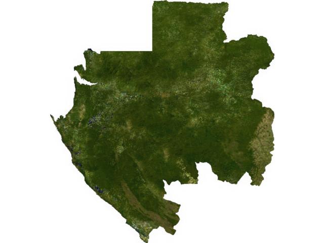 Gabon sat image