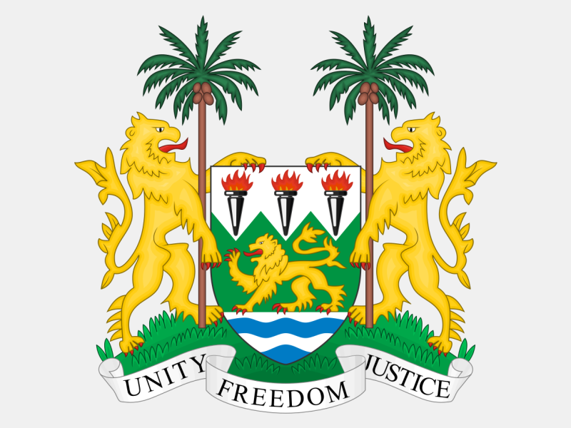 Coat of arms of Sierra Leone coat of arms image