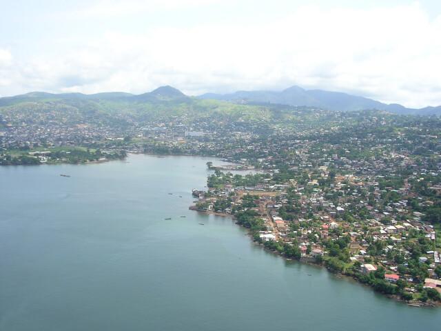 Freetown-aerialview image