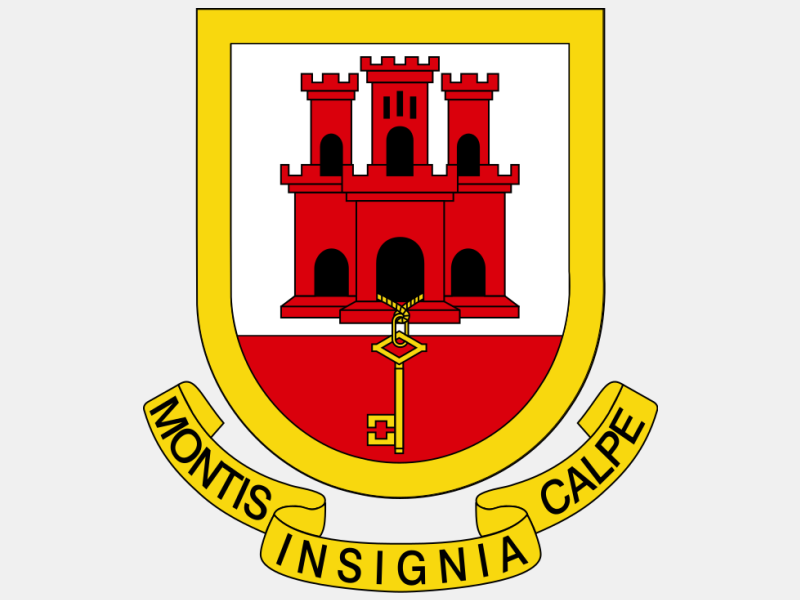 Coat of arms of Gibraltar1 coat of arms image