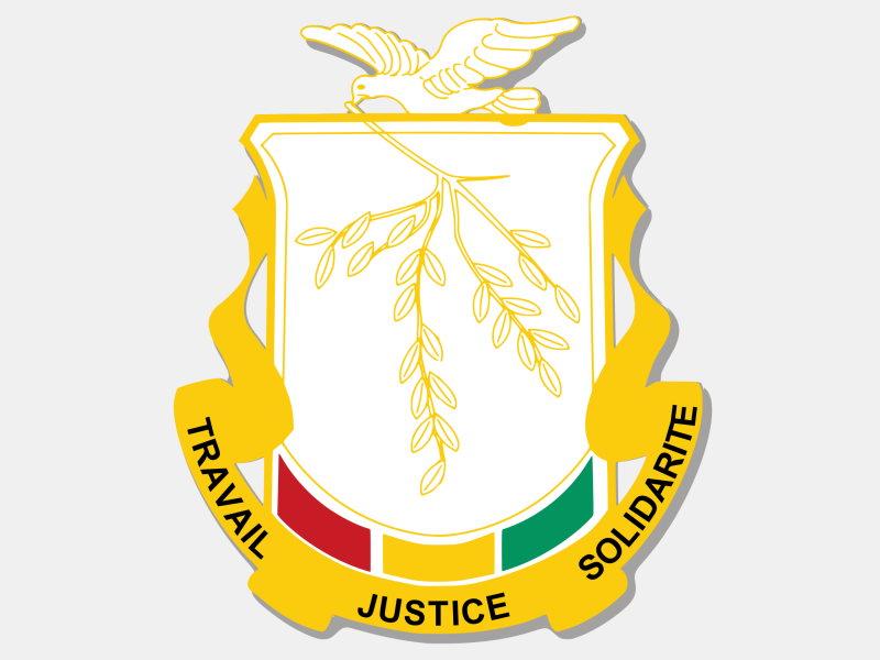 Coat of arms of Guinea coat of arms image