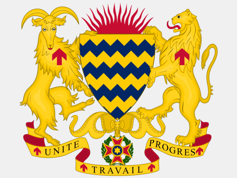 Coat of arms of Chad coat of arms image