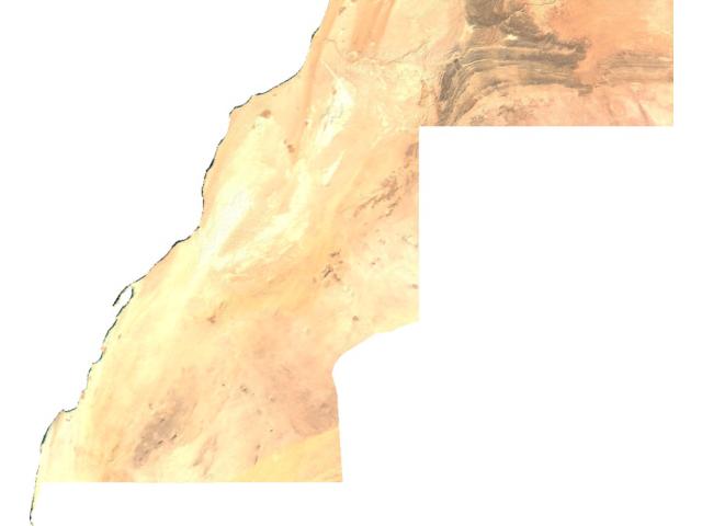 Western Sahara sat image
