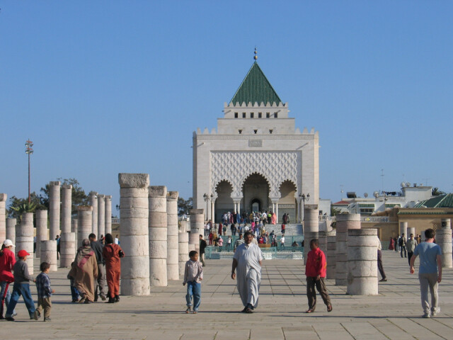 Rabat Mausole MohammedV image