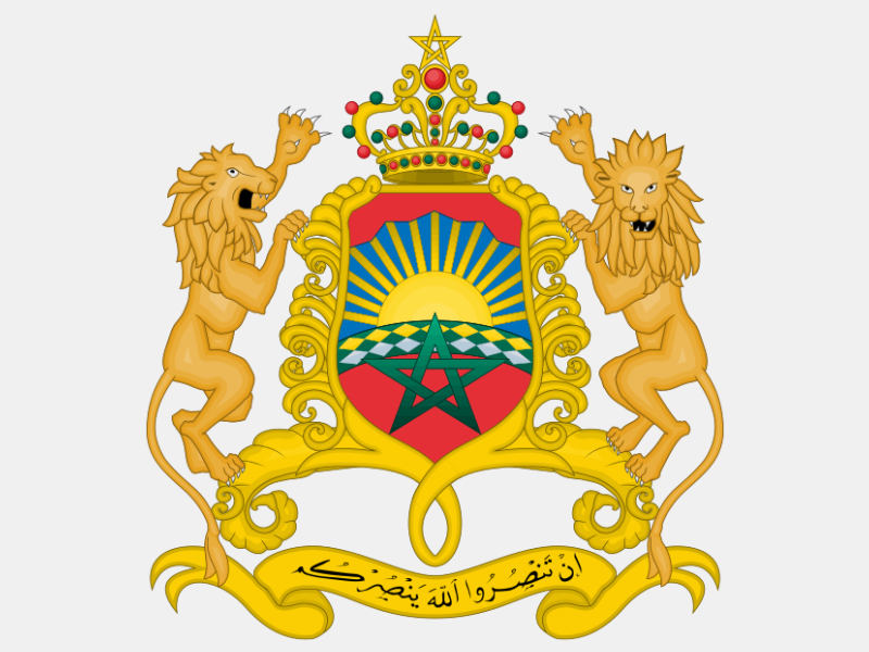 Coat of arms of Morocco coat of arms image