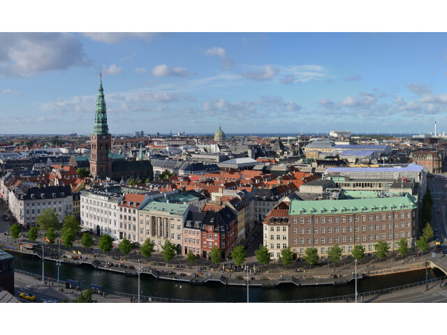Copenhagen - view from Christiansborg castle image