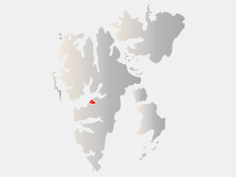 Longyearbyen locator map