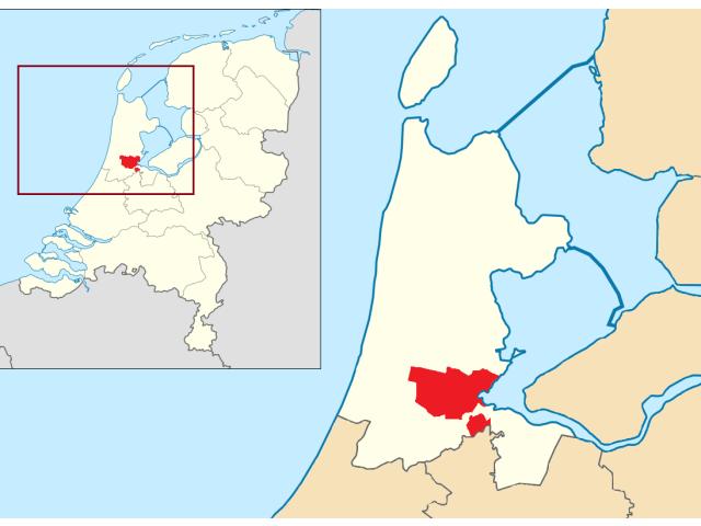 Amsterdam locator map