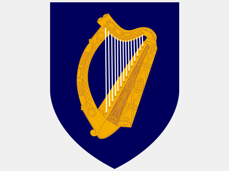 Coat of arms of Ireland coat of arms image